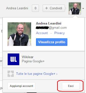 Badge account Google