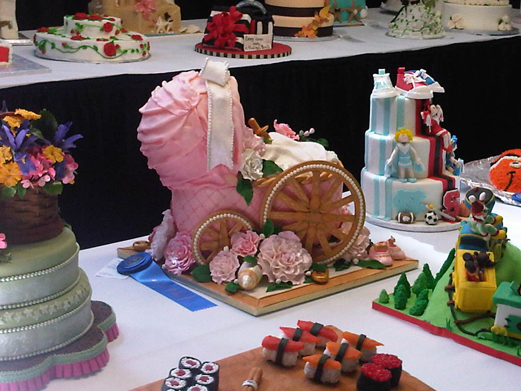 Cake Sophistication - The Blog: 2011 NC State Fair Cake ...