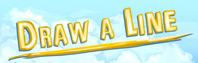 Line Draw Game Draw a Line Flash Game