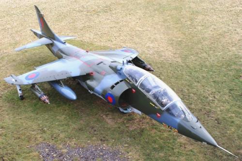 Pesawat pejuang Harrier T2