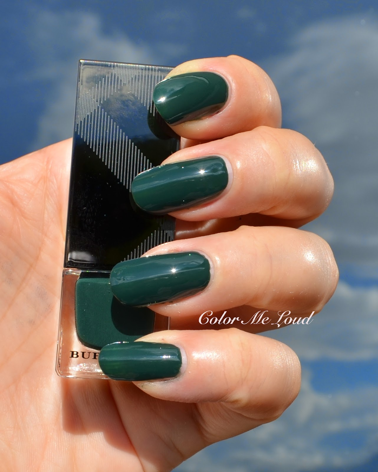 Burberry Nail Polish #407 Elderberry, #423 Dark Bottle Green, #425 ...