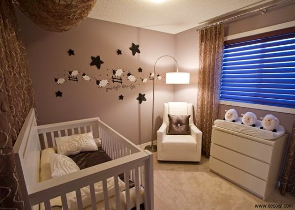 Idée décoration chambre bébé mouton