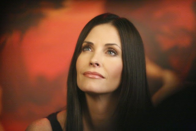 Courtney Cox : Antes y después