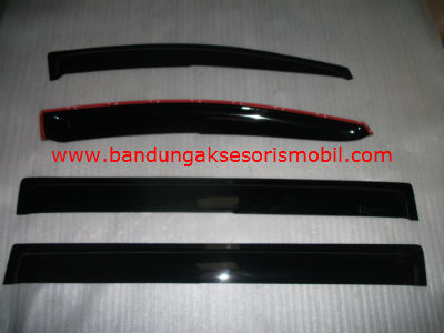 Talang Air Freed Mugen Hitam 3M Depan Belakang