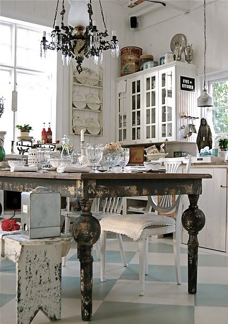 Cocinas shabby chic shabby chic kitchens - Cocinas estilo shabby chic ...