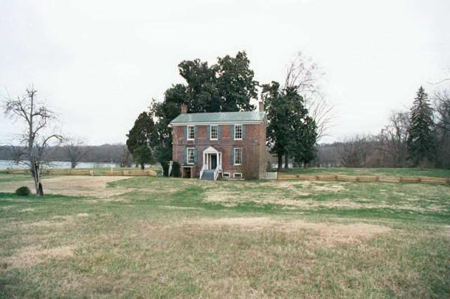 Col. Richard Kennon's home, Virginia