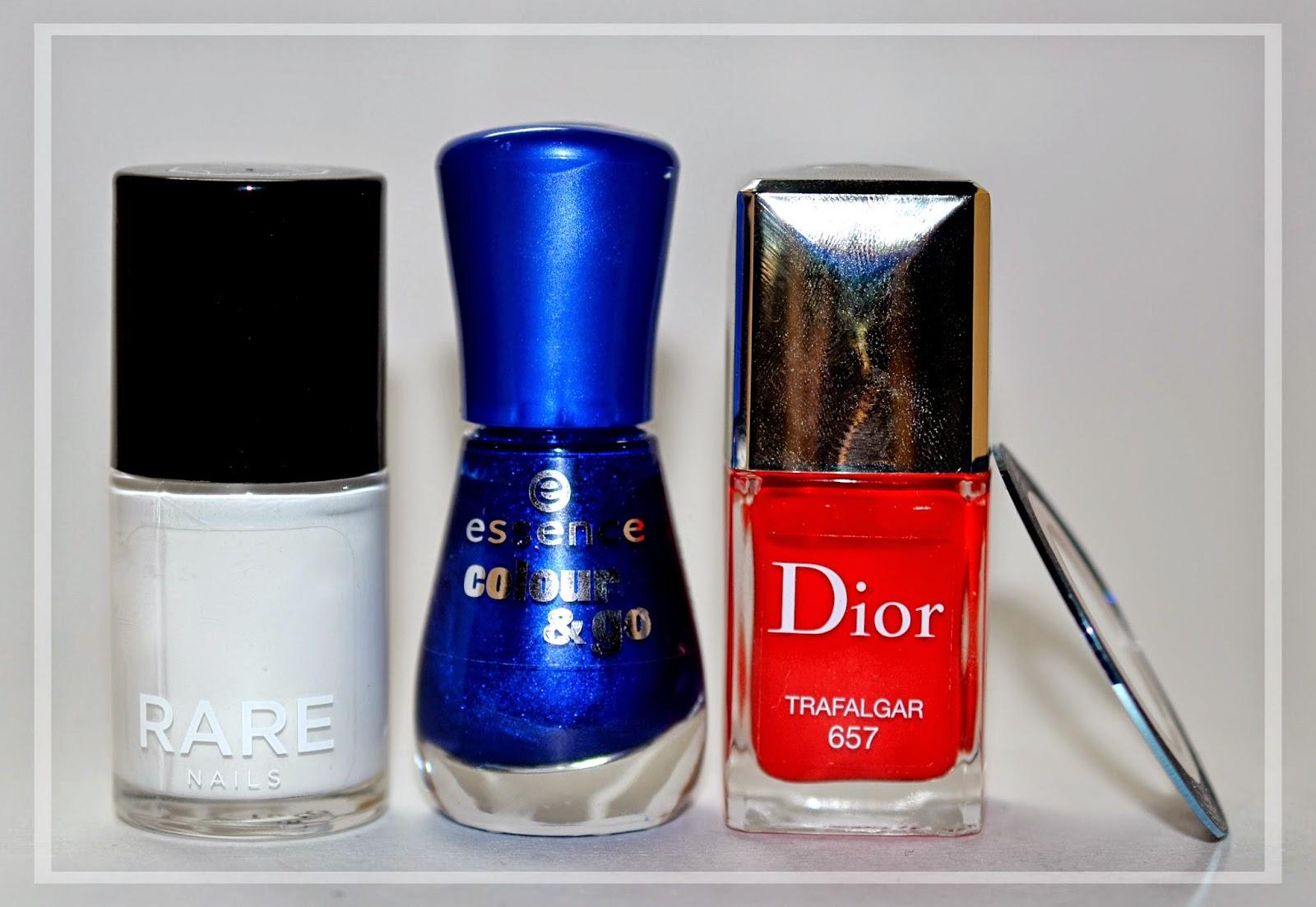 Nail nails nailart art uñas diseño uñas rare milk essence dior trafalgar 657