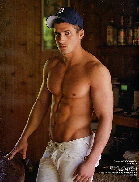 Todd Sanfield shirtless
