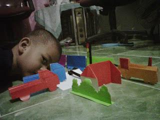 Membuat mainan anak itu tidak perlu biaya mahal