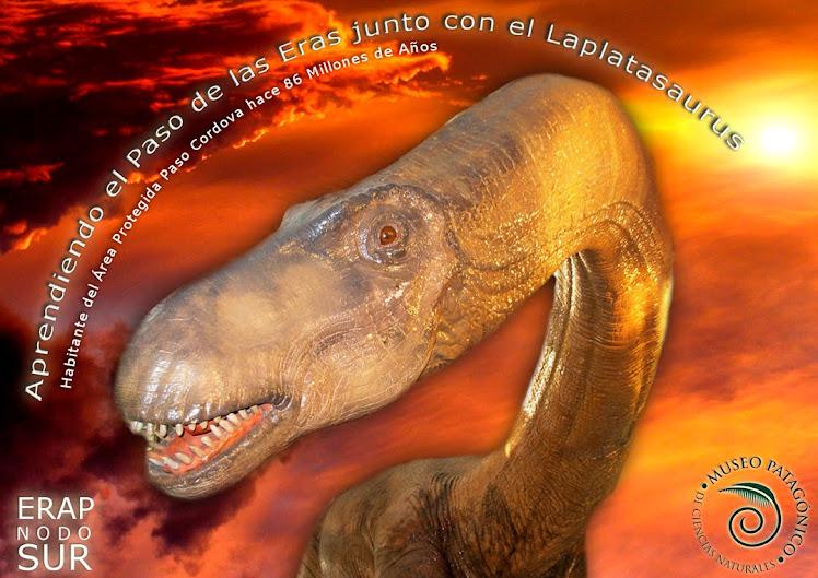 Laplasaurus, un dino con buena onda (vegetariano)