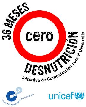 Iniciativa de Comunicación para el Desarrollo, 36 meses cero desnutrición