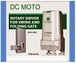 Autogate DC moto
