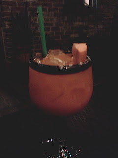 Carrot Lime Margarita at El Gato Negro in New Orleans