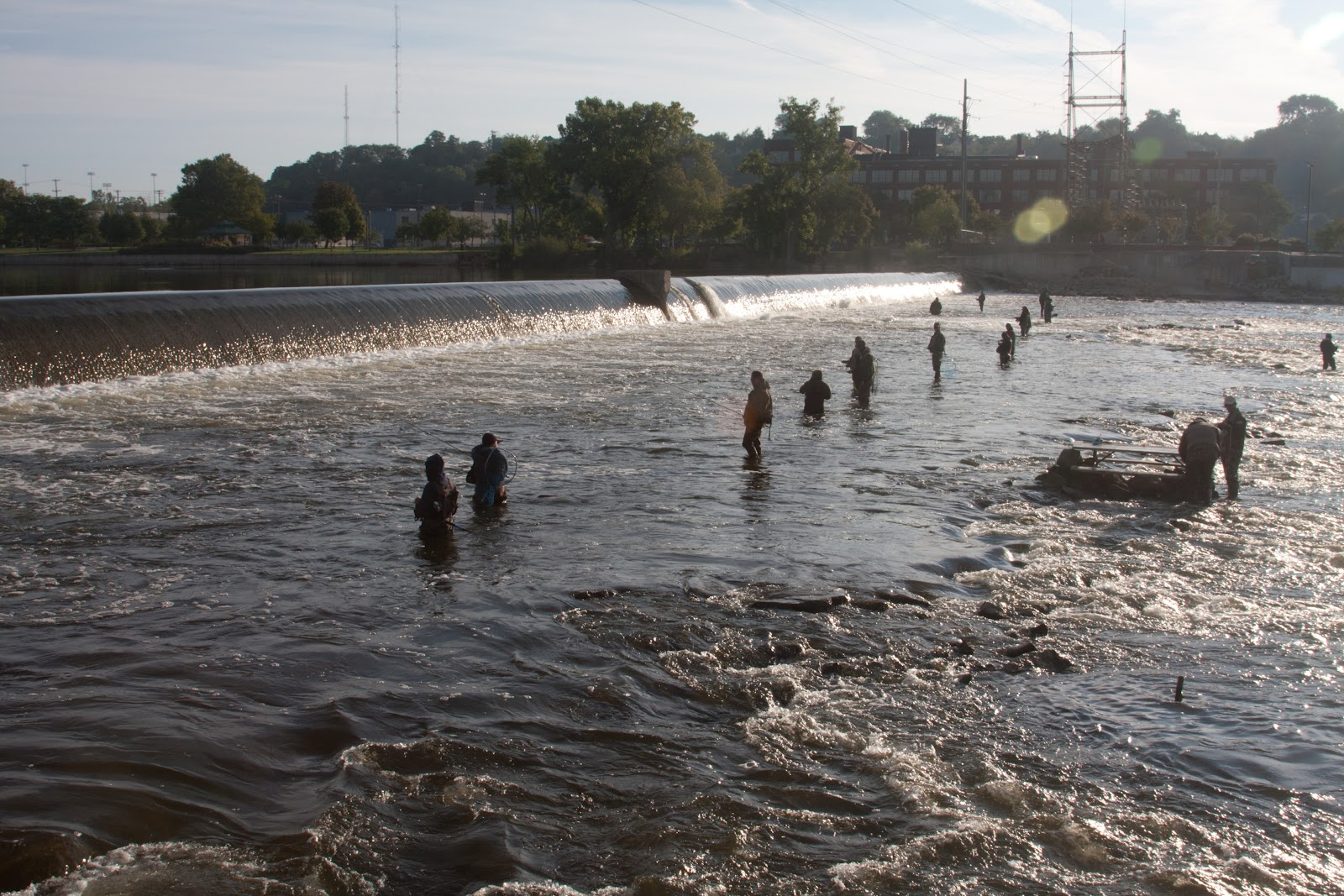 The river is my mistress restore the rapids to the grand for Grand river fishing