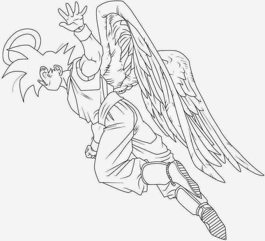 Dibujos de Goku para Colorear ~ Dibujos para Niños