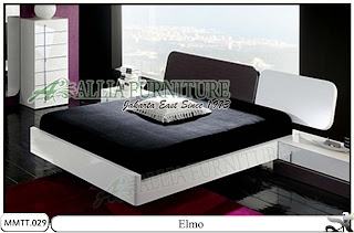 Tempat Tidur Minimalis Modern Oval Elmo