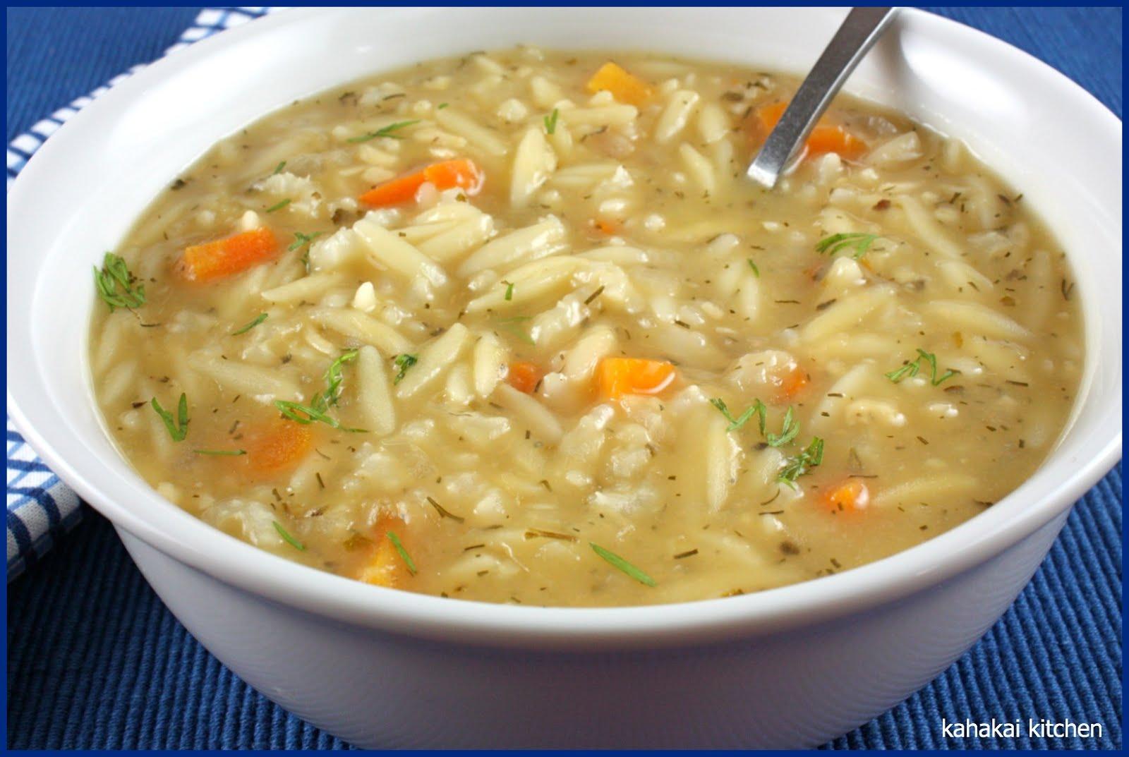 Greek chicken lemon soup recipe | Food fox recipes