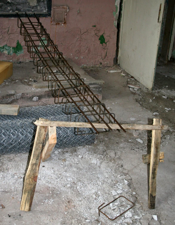 Concrete reinforcement taking shape