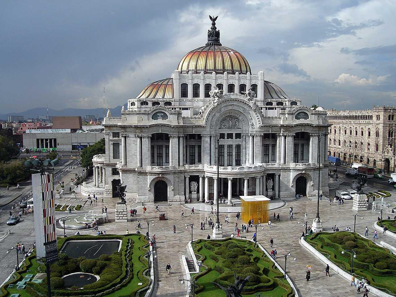 Proyectos en mexico anal a d az restauraci n palacio for Arquitectura 7 bellas artes
