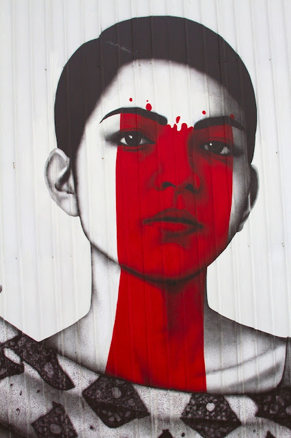 """""""The Serpenteens"""" New Street Art Collaboration By Fin DAC and Angelina Christina In Minneapolis, USA. 7"""