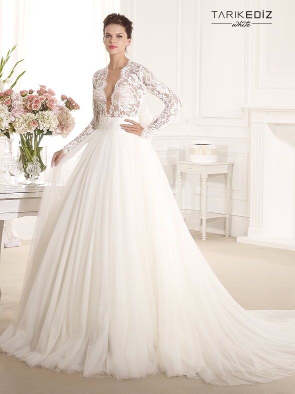 Wedding Dresses Tarik Ediz White 2014