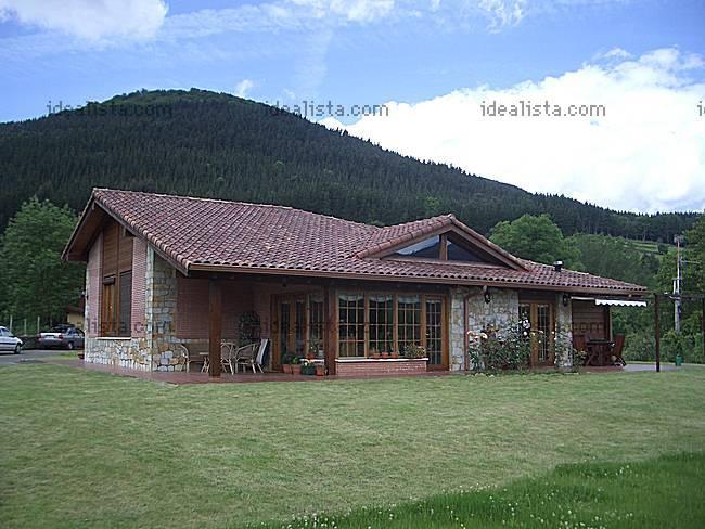 Fachada de casas de campo cocinas modernas - Fachadas casas de campo ...