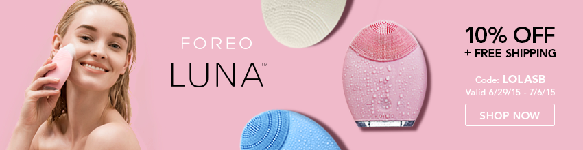FOREO LUNA EXCLUSIVE FOR LSBB READERS