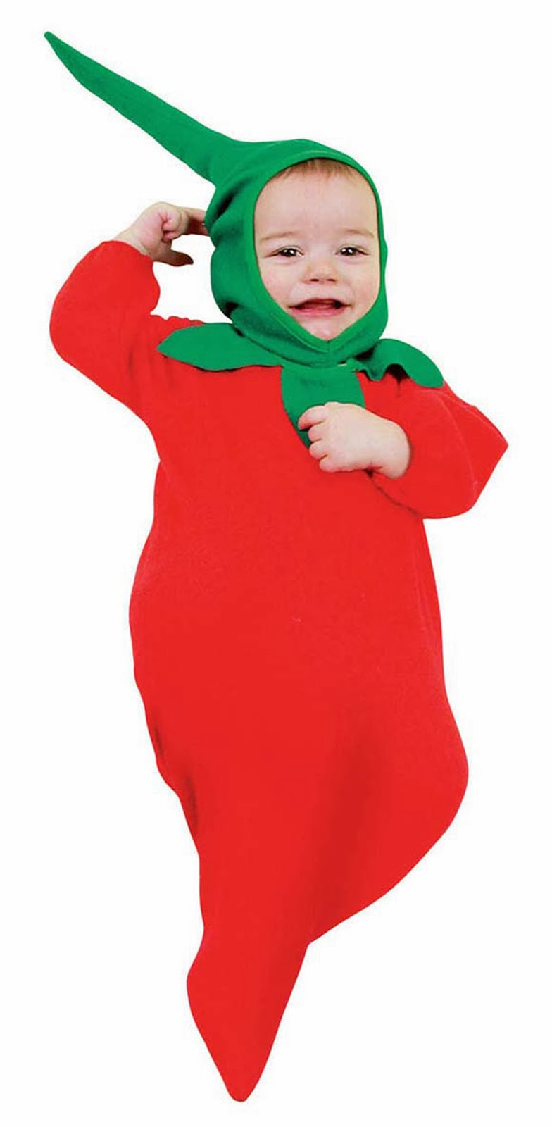 voksen baby kostume