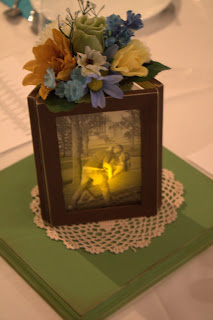 Picture Frame Centerpieces For Weddings