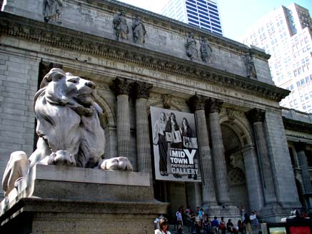 Is the new york public library in serious financial trouble