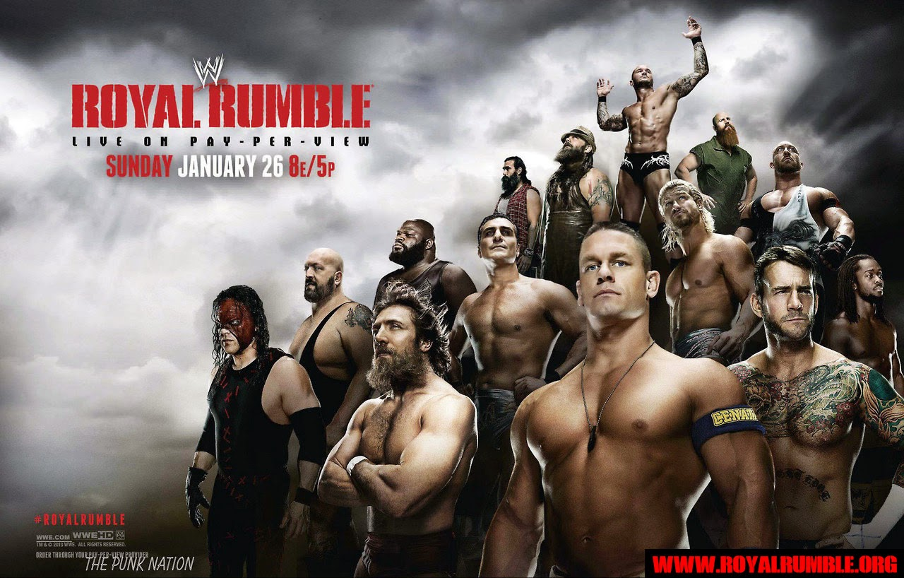 WWE Royal Rumble PPV 2015 Desktop Backgrounds