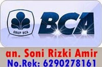 no rek bca soni herbal