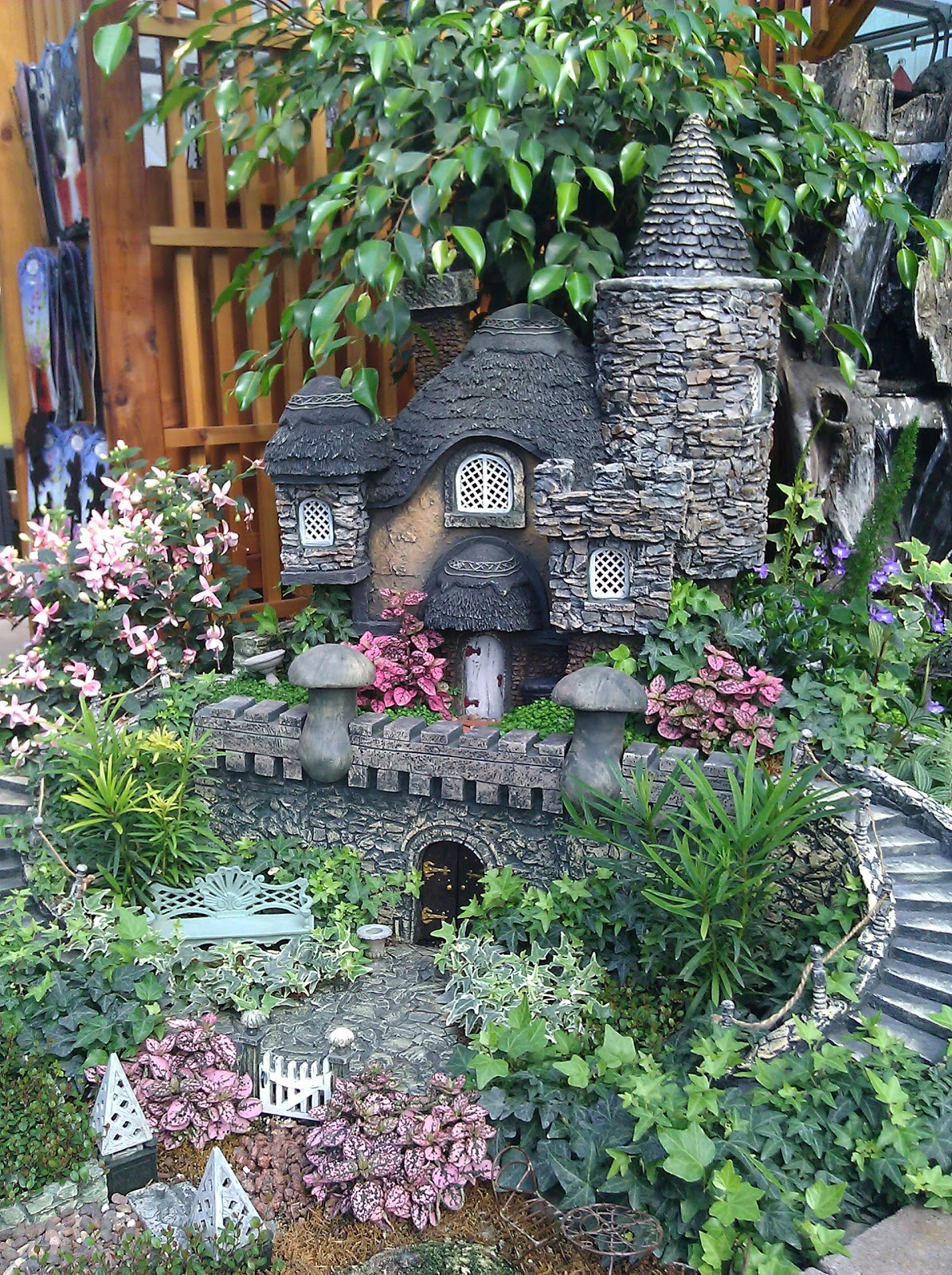 A fairy garden sweetwater style sweetwater style for Fairytale inspired home decor