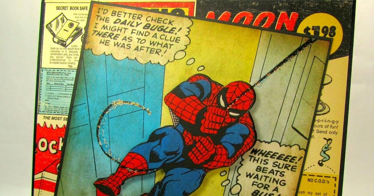 Im A Little Teapot Spiderman Birthday Card