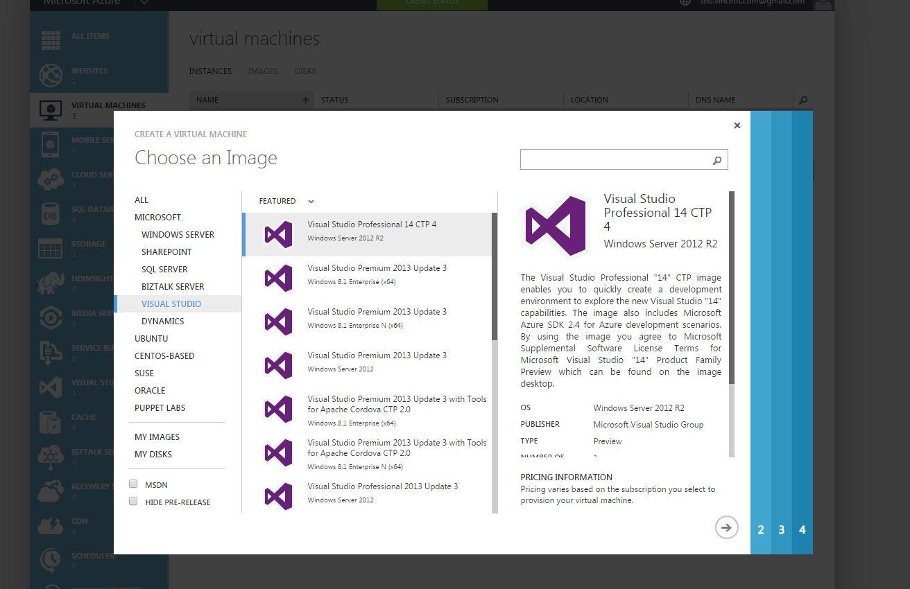 Visual Studio 14 CTP 4 - Mam go!