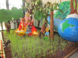 Home Decoration Ganesh Festival