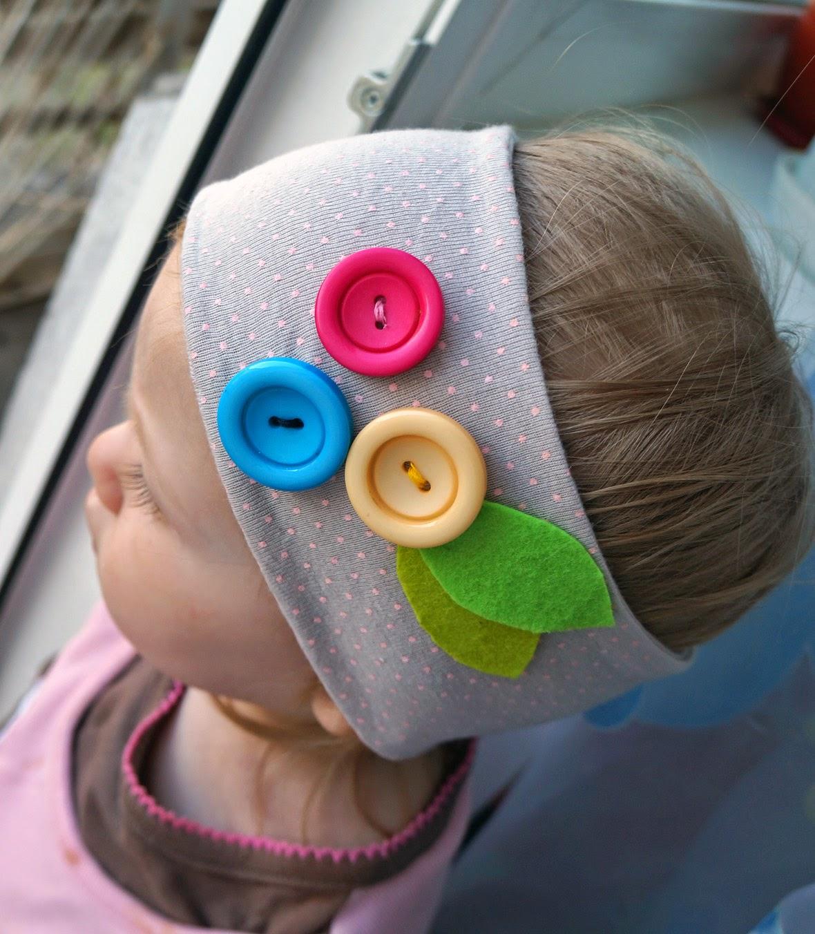 повязка на голову для девочки
