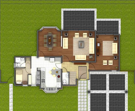 Planos casas modernas planos de casas de madera prefabricadas - Planos casa de madera ...