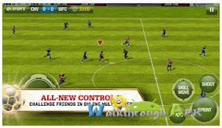 Download Android Games FIFA 13 APK + Data Full Version