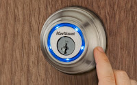 Locksmith Spokane Kwikset Kevo deadbolt