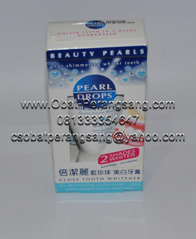 Nany Kosmetik Obat Pemutih Gigi Pearl Drops Cara Memutihkan Gigi