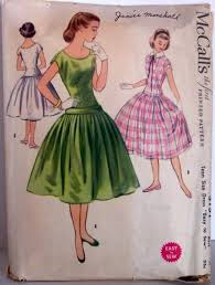 Vintage clothing pattern McCalls