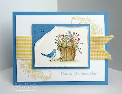 Stampin' Up! Peace Within Messages For Mom