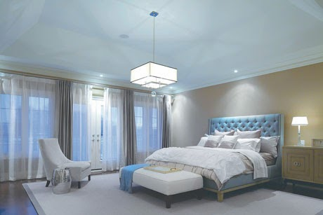 Village Lakes Master Bedroom Interior Design