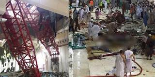 JANJI RAJA ARAB SAUDI TENTANG CRANE JATUH DI MASJIDIL HARAM 2015