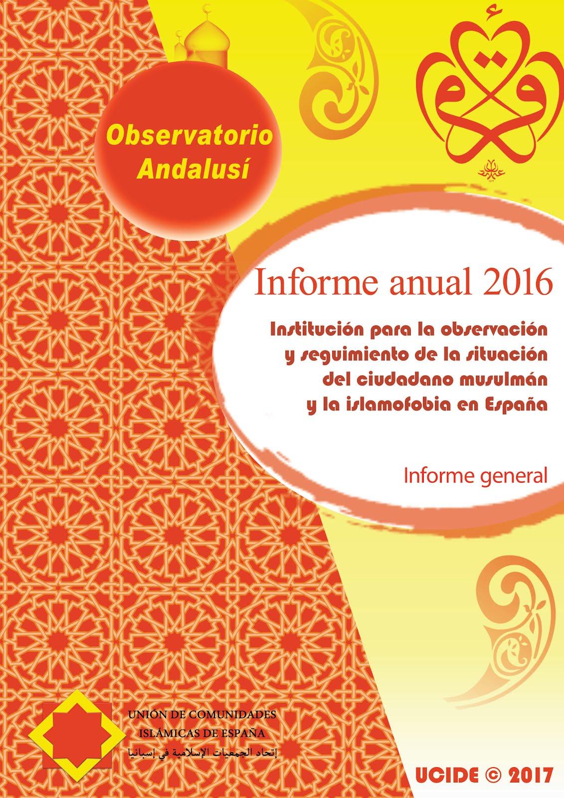 Informe anual de 2016