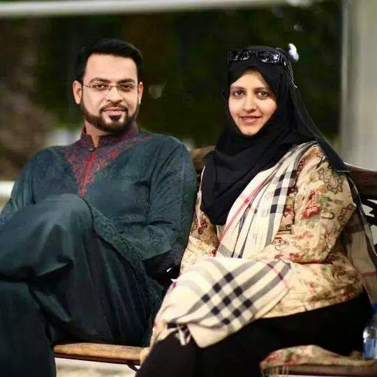 amir liaquat recent pic with his wife and family unseen