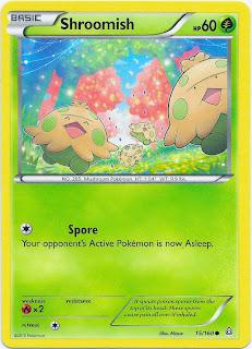 Shroomish Primal Clash Pokemon Card