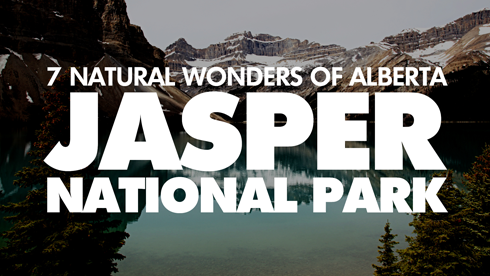 jasper national park 7 wonders alberta