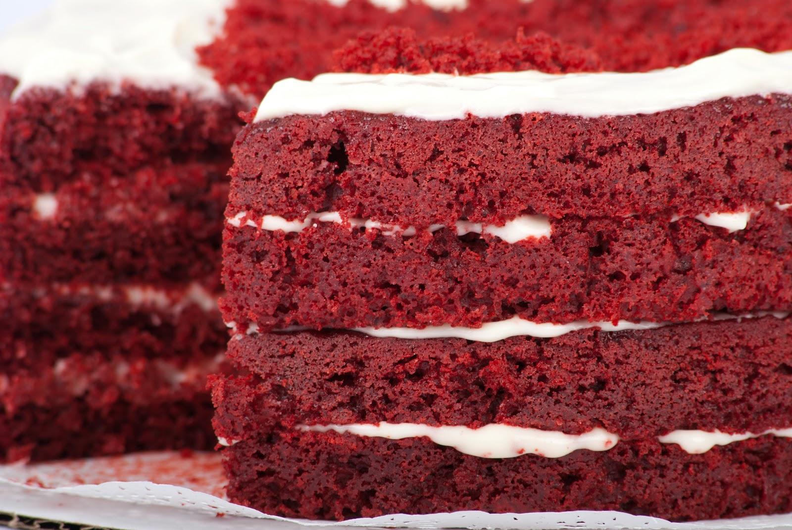 Torta Red Velvet Receta la Torta Red Velvet Consiste